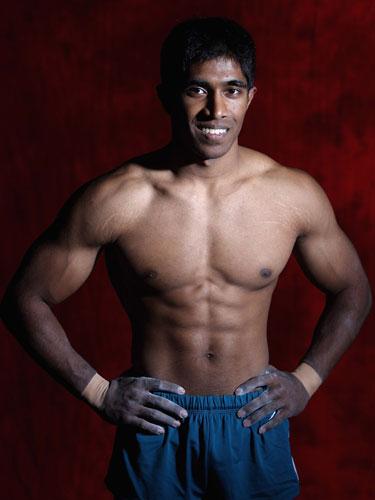 图文-澳大利亚国家体操队写真集英武帅哥完美身材