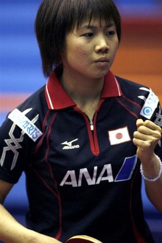图文-世乒赛女单第二轮战况平野早矢香轻松晋级