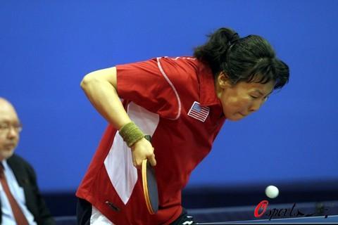 图文-世乒赛女单王晨胜帖亚娜如此刁钻的挑球