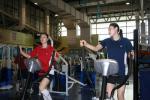 图文-中国女排身体训练备战四国赛王一梅练跑步