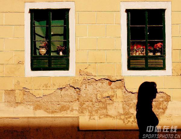 图文-世乒赛举办地萨格勒布掠影古老的民宅