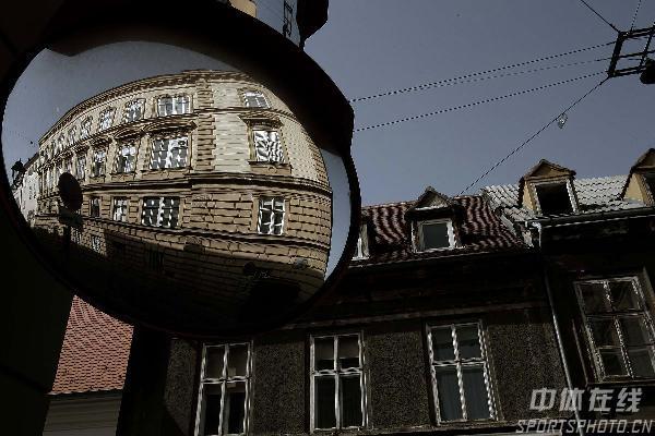 图文-世乒赛举办地萨格勒布掠影城区典型建筑