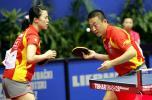 图集-49届世乒赛进入白热化中国提前卫冕混双冠军