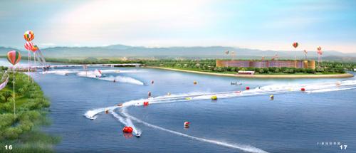 赛场-F1摩托艇中国站西安图文效果图水天一色花样滑冰上海图片