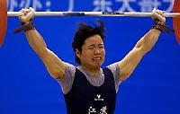 十运女举58公斤级陈艳青夺魁前四名皆超世界纪录