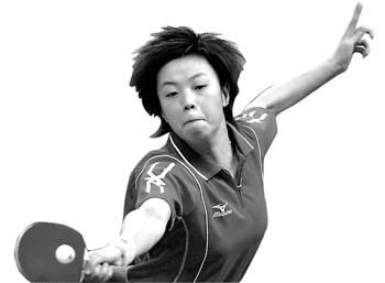 """乒乓球五宗""""最"""":张怡宁最幸运刘国梁最悠闲(图)"""