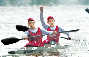 看船娃为皮艇而生五冠王待奥运一搏--刘海涛速写