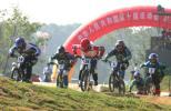 图文-BMX小轮车个人赛山东岳丛夺女子组冠军