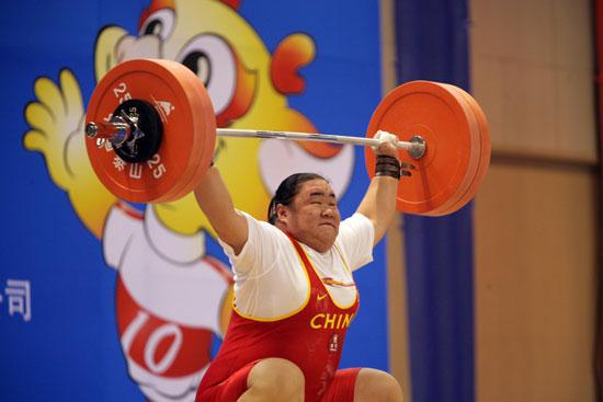 图文-唐功红失手退出冠军争夺奥运冠军力不从心