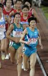 图文-邢慧娜5000米斩获第二金奥运冠军独领风骚