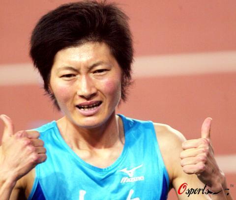 图文-十运赛场之运动员表情篇邢慧娜崭露霸气