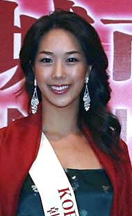 2006世界杯足球宝贝巡礼韩国小姐吴恩英(组图)