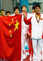 男子水球中国队夺冠