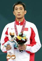 武术散手56公斤级李腾摘金