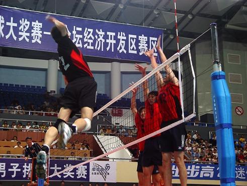 步步高全国男子排球大奖赛—金坛经济开发区赛区山东队vs河南队比