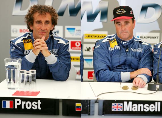 F1传奇车手竞逐DTM普罗斯特曼塞尔现身纽伯格林