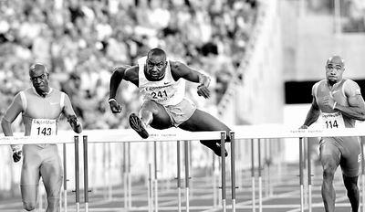 十三秒夺走男子110米栏金牌杜库雷称雄奥斯陆(图)