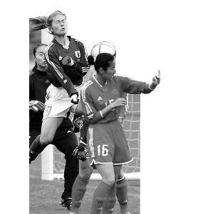 日本女足也想爆冷:战胜中国队形成四强并立局面
