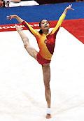 世界大运会:范晔后来居上获女子体操个人全能金牌
