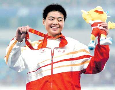 刘青:友谊第一比赛第二邢慧娜是我的榜样(图)