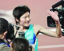 邢慧娜五千米夺冠泪洒赛场已经用实力证明了自己(图)