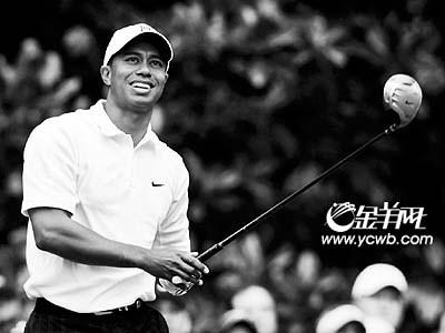 汇丰冠军杯高尔夫球赛:伍兹蒙哥马利张连伟同组(图)