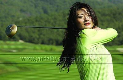 云南女子高尔夫球队出炉以赛带练推动高球发展