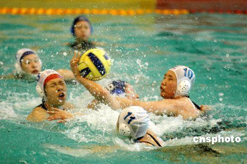 备战2008北京奥运会世界水球联赛首度中国逐浪
