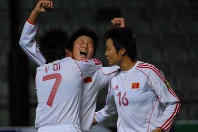 铿锵玫瑰五年来首胜朝鲜跨过险峰闯入亚洲杯决赛