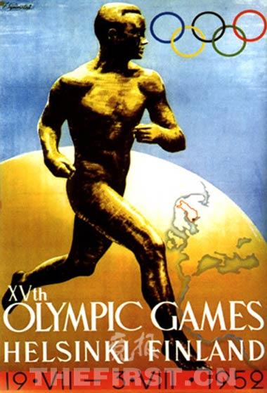 奥运解密:1952年奥运会中国队为何迟到10天?