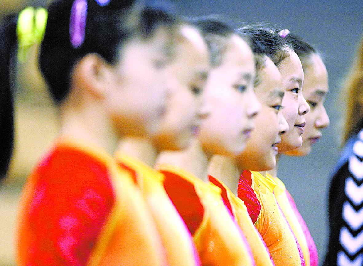 体操女队有实力却不谈夺冠将做好三点保证佳绩