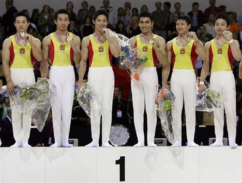 中国男团预赛分数判错组委会解释为何自摆乌龙