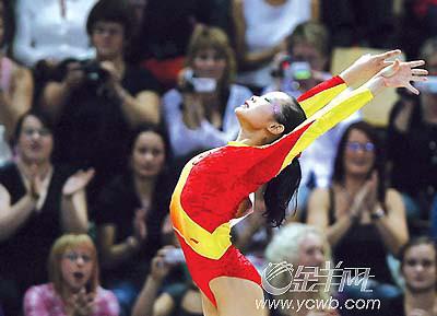 世锦赛先夺冠后命名再卫冕程菲专门改写中国体操史