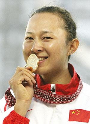 12秒93勇夺100米栏冠军刘静:一枚金牌等了八年