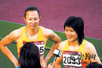梦想令刘静从校园再度返回赛场孙海平临阵指点起跑