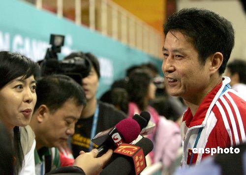 中国女排决赛中战胜日本队取得亚运会三连冠