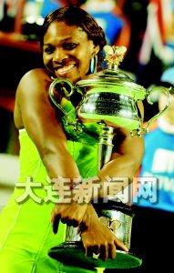 澳网黑旋风痛击莎拉波娃用冠军宣告从伤病中走出