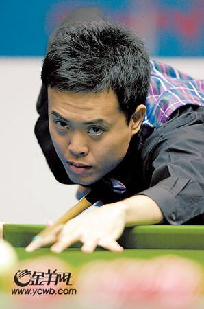 斯诺克中国公开赛傅家俊遗憾出局中国最后防线失守