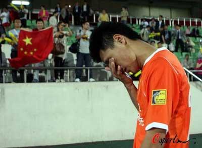 """鲁能负韩冠军无缘八强""""打平就出线""""再绊中国足球"""