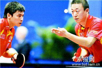 双打变团体参赛者要肩挑双任--从世乒赛看北京奥运