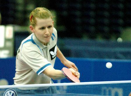 图文-德国乒乓球公开赛鲍罗斯半决赛不敌牛剑锋