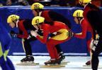 图文-全国短道速滑赛激战正酣神啊救救我吧