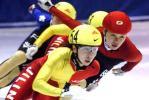 图文-速滑赛女子500米程晓蕾夺冠挑战者穷追不舍