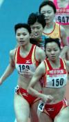 图文-全国室内田径赛天津站杨晓翠跟跑存实力