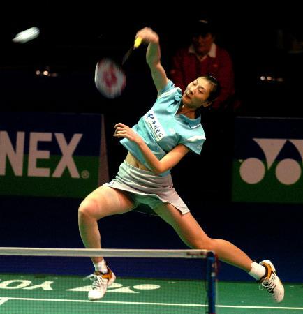 全英羽毛球赛产生四强张宁淘汰全在娟