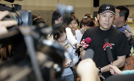 图文-国家队模拟赛备战苏杯李永波宣布阵容