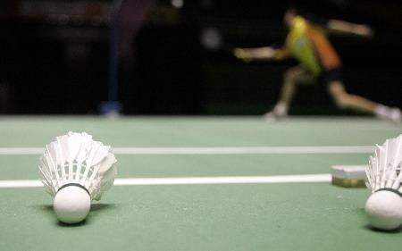 图文-国家队备战苏迪曼杯小小羽球凝聚希望