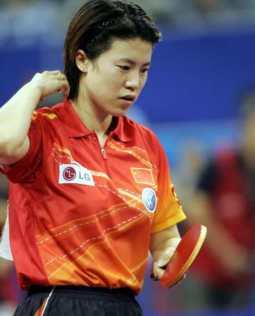 世乒赛女单第三轮赛况王楠 这下糟了