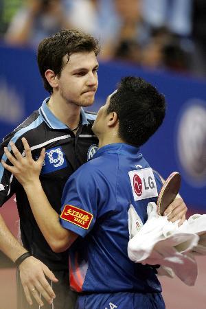 图文-世乒赛男子单打第四轮大家都是老相识了
