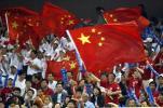 图文-世乒赛男子双打决赛热情高涨的拉拉队